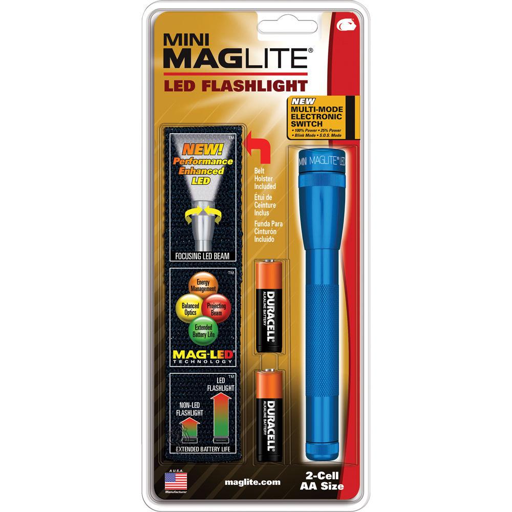 Ставим светодиод в maglite аа своими руками